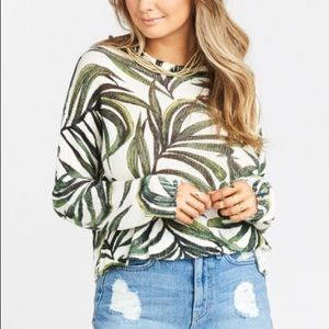 Mumu sweater. Worn once. Size medium